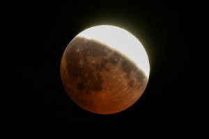 Partielle Mondfinsternis über Lübeck am 16.-17. Juli 2019 @ Wiese hinter der Grundschule Grönauer Baum