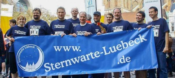 Sternwarte beim Lübecker Marathon 2012