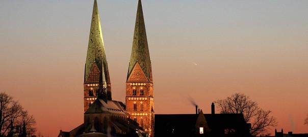 Astronomietag: Hunderte Lübecker suchten den Kometen