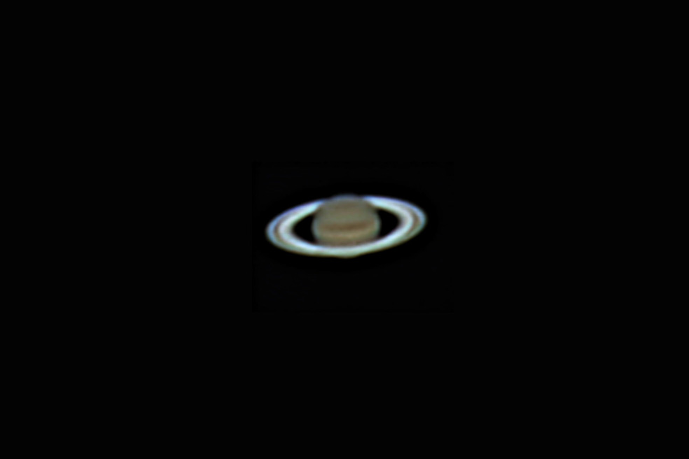 Der Saturn ist zwar nicht der einzige, aber schönste Planet unseres Sonnensystems mit einem Ring. (Friedrich Schrader)