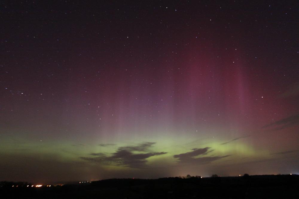 Polarlicht vom 17./18. März 2015 (Torsten Lohf)