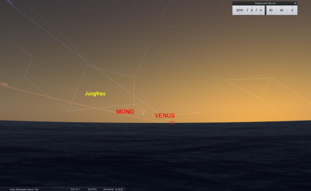 03.09.: Herausforderung am Horizont...