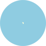 Der Planet Venus kann auch am Taghimmel beobachtet werden.