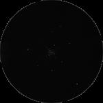 M 36: Der mittlere Sternhaufen des phantastischen Trios im Fuhrmann. Nur das Fernglas, oder ein Weitfeldteleskop ermöglichen den Anblick auf diese Region.