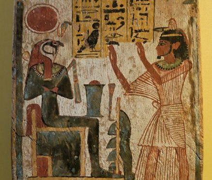 Stele Ra-Horakthy Louvre, ca. 900 v. Chr.