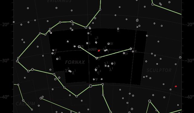 Das Sternbild Fornax – Chemischer Ofen