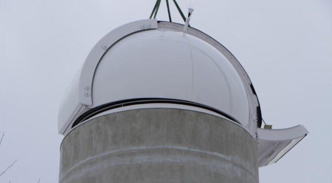 Die Kuppel ist da!